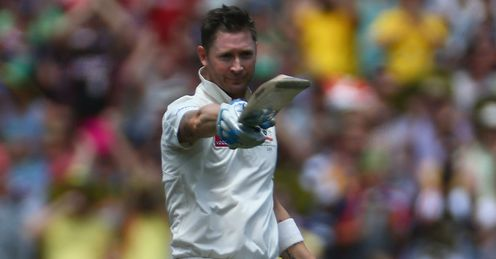 Michael Clarke Australia v Sri Lanka 2nd Test 2012