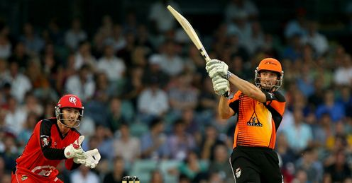 Shaun Marsh Perth Scorchers v Melbourne Renegades Twenty20 Big Bash League WACA