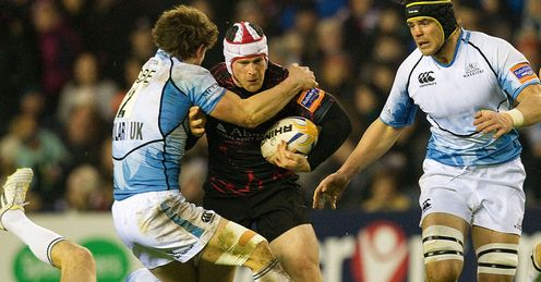 Andy Titterrell Edinburgh Rugby Glasgow Warriors Rabodirect Pro12