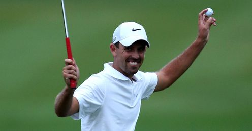 Charl Schwartzel winning the Alfred Dunhill two months back