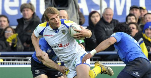 Clermont s French winger Aurelien Rougerie