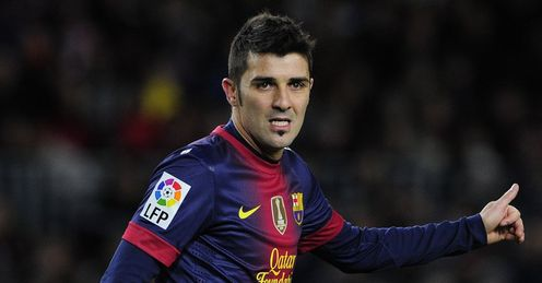 David Villa: a No 9 who frees up room for Messi and finds the net too