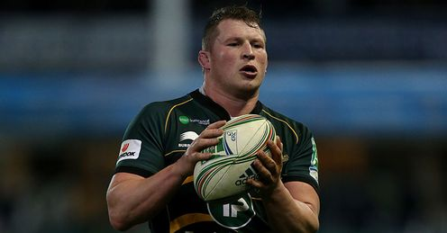 Dylan Hartley Northampton Saints