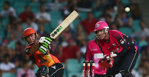 Herschelle Gibbs batting Perth Scorchers T20 Big Bash