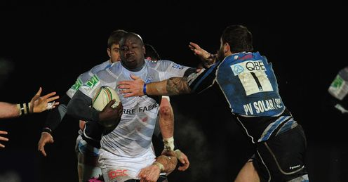 Ibrahim Diarra Castres Heineken Cup