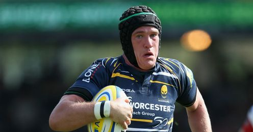 James Percival Worcester Aviva Premiership