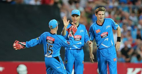 Johan Botha Strikers Big Bash celeb