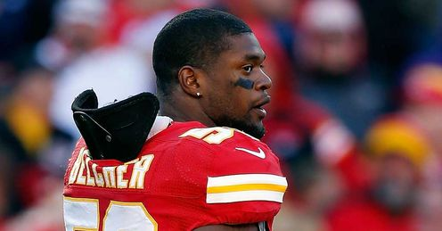 Belcher: was not publicly remembered by Chiefs this weekend