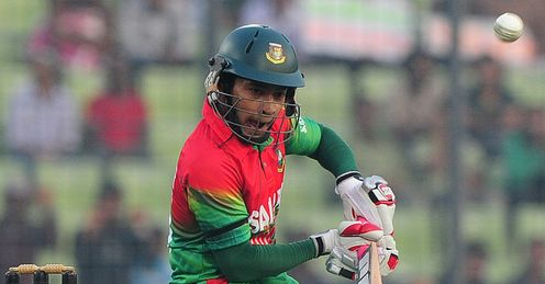 Mushfiqur Rahim Bangladesh v West Indies third odi