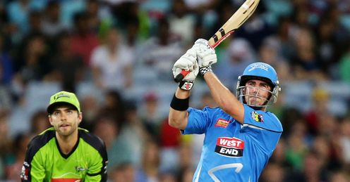 Nathan Reardon Adelaide Strikers v Sydney Thunder Big Bash