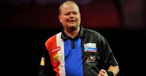 Van Barneveld: star performer in round one