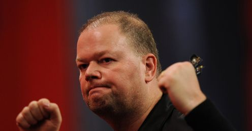 Van Barneveld: topped the first-week averages