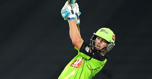 Scott Coyte Sydney Thunder v Adelaide Strikers Big Bash