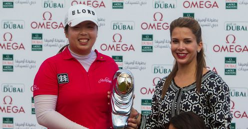 Shanshan Feng: Clear winner