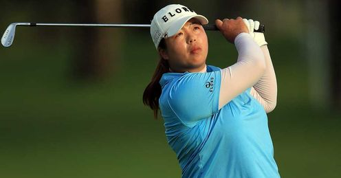 Out in front: Shanshan Feng