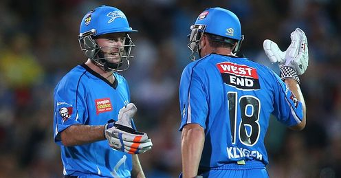 Tim Ludeman Michael Klinger Adelaide Strikers Big Bash