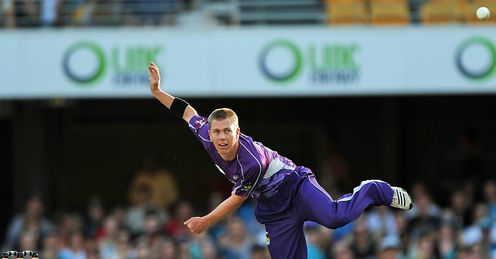 Xavier Doherty Hurricanes Big Bash