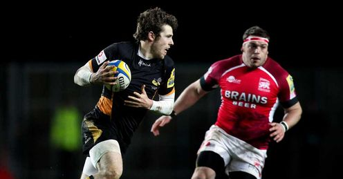Elliot Daly - Wasps v London Welsh - 29/12/12