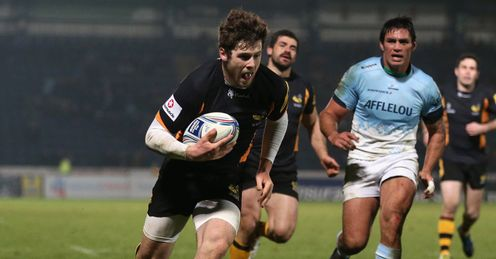 elliot daly wasps try 2012