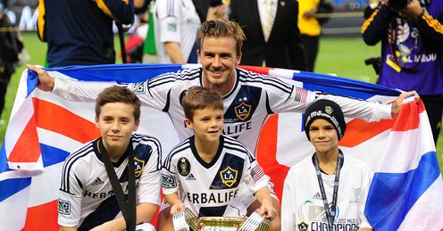 Beckham: first US adventure was a success - now for the next one...