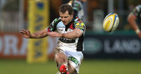 nick evans harlequins v northampton