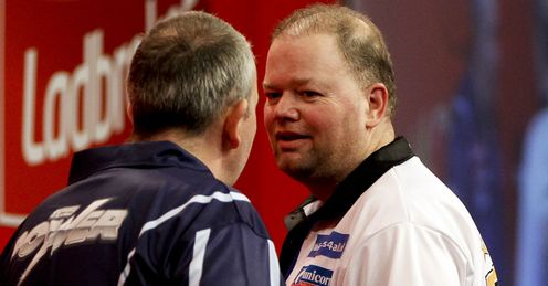 Van Barneveld & Taylor: duo to clash on Thursday