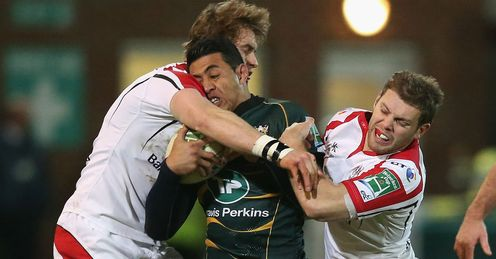 Northampton defeated Ulster 10-9 last weekend