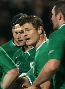 Brian ODriscoll Ireland 2012