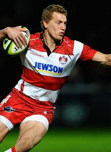 Billy Twelvetrees Gloucester 2013