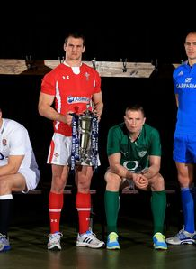 Six Nations launch 2013 - captains