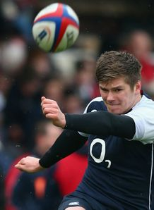 Owen Farrell England training 2013