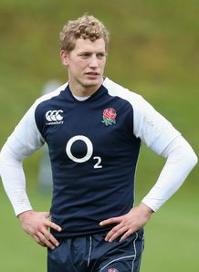 Billy Twelvetrees England training 2013