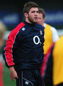 Will Fraser England Saxons training 2013