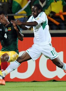 Africa Cup of Nations: Two penalties from Victor Moses earns Nigeria a 2-0 win over Ethiopa