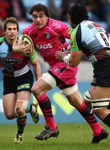 Andries Pretorius Cardiff v Harlequins 2012