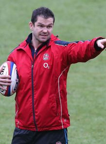 Andy Farrell England training