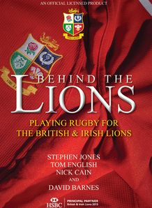 Behind the lions book cover