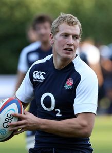 Billy Twelvetrees England training 2012