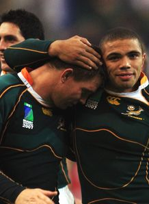 Bryan Habana John Smit RWC 2007