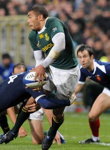 Bryan Habana Vincent Clerc South Africa France 2009