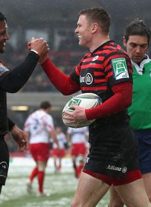 Chris Ashton Saracens 2013