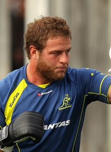 Dan Palmer of the Wallabies