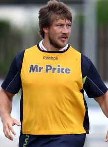 Frans Steyn at Sharks pre season