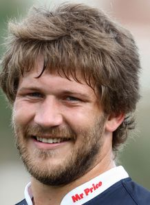 Frans Steyn close up