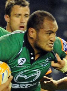 George Naoupu Connacht Pro12
