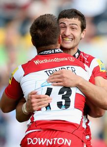 Gloucester pair Jonny May and Henry Trinder