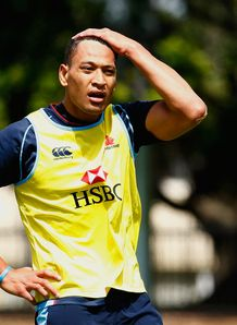 Israel Folau Waratahs 2012