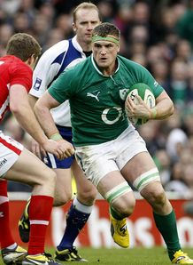 SKY_MOBILE Jamie Heaslip Ireland v Wales 2012 Six Nations