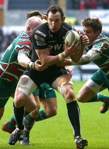 Joe Bearman Ospreys v Leicester 2013