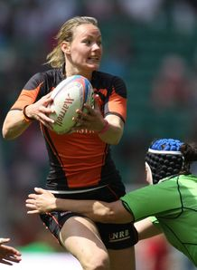 Kelly van Harskamp of the Netherlands